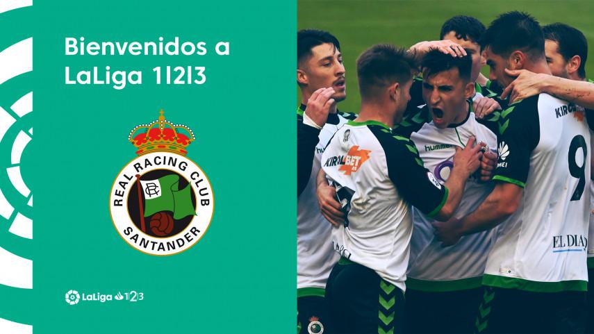 El Real Racing Club de Santander regresa a LaLiga 1l2l3