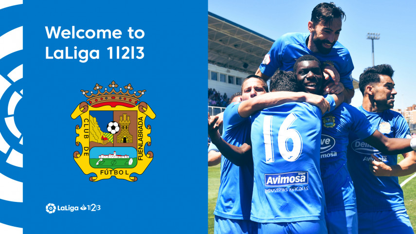 Fuenlabrada clinch historic promotion to LaLiga 1|2|3