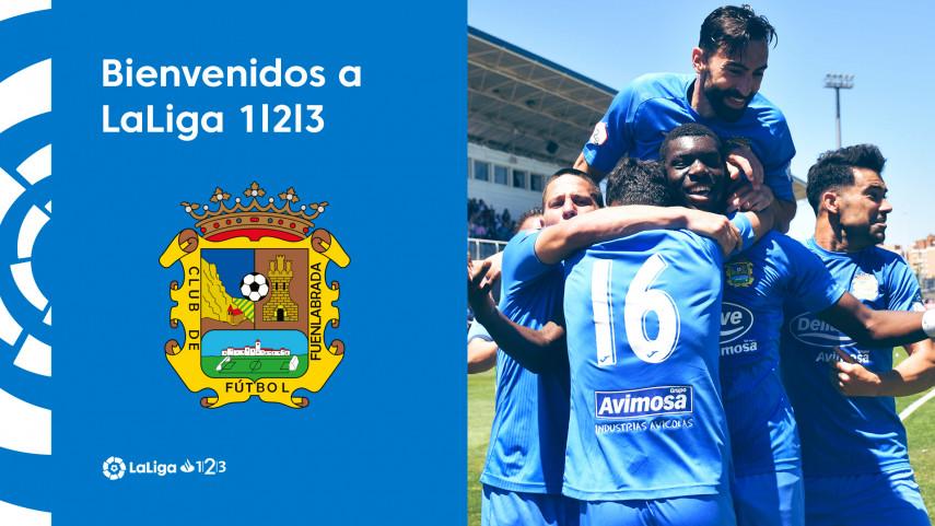 El CF Fuenlabrada logra un histórico ascenso a LaLiga 1|2|3
