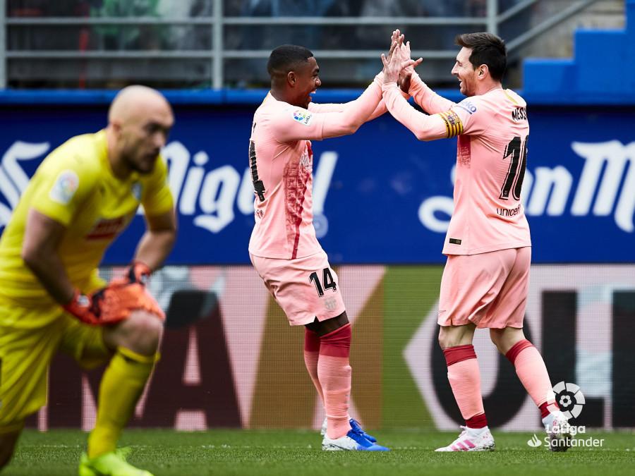 4cf08334c1 Messi festeja un gol ante el Eibar (Foto  LaLiga).