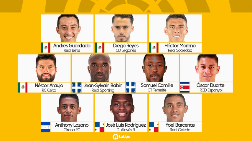 LaLiga stars to have big presence at the 2019 Gold Cup