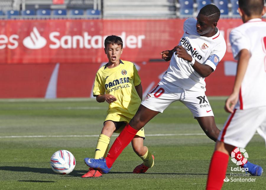 Ibrahima Sow, ante el Villarreal. (Foto: LaLiga).
