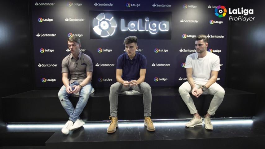 LaLiga ProPlayer. Entrevista con jugadores de ProPlayer 18/19
