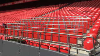 San Mames Safe Standing. Safe Standing Rail Seats Athletic Club in San Mames