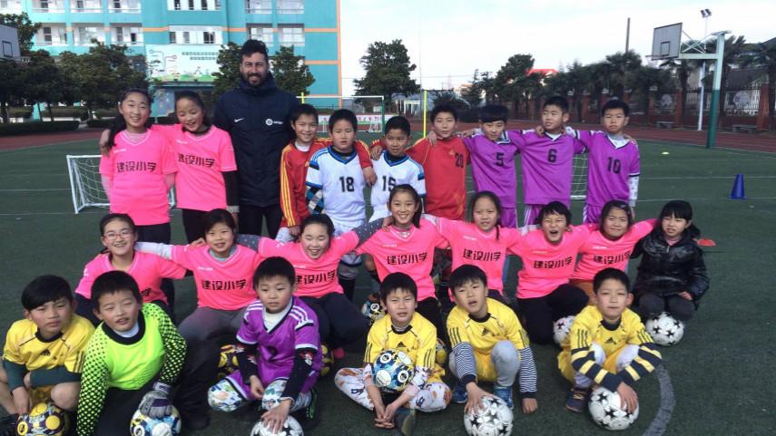 LaLiga trainers in China. LaLiga coaches in China