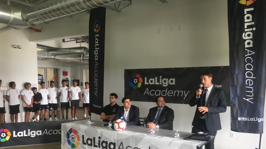 Presentación Academias LaLiga North