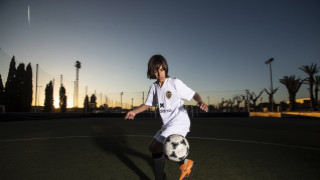 Valencia youth academy. Players of Valencia CF academy