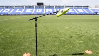 Leganes VAR offside testing. FIFA VAR offside testing event at Leganes