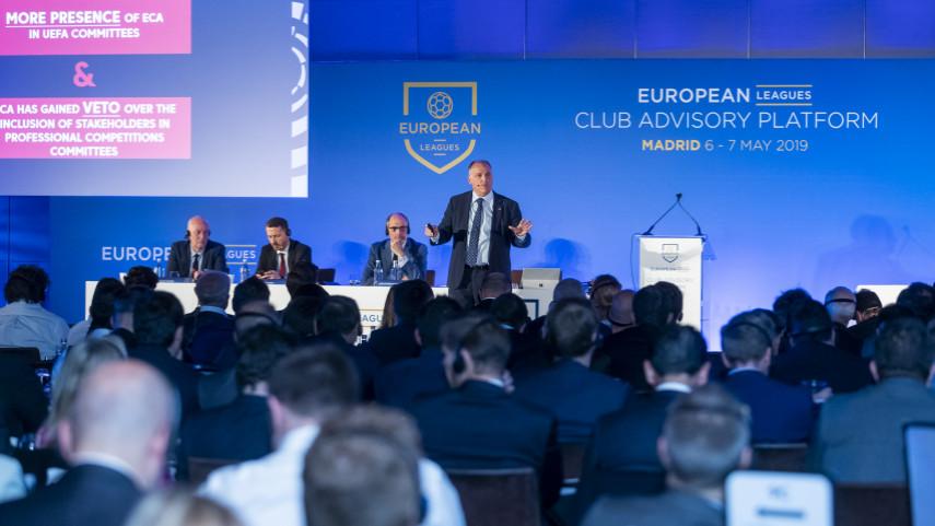 European Leagues Club Advisory Platform Madrid. European Leagues Club Advisory Platform in Madrid May 2019