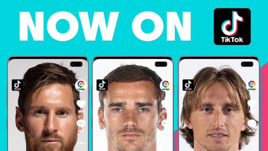 LaLiga TikTok. LaLiga launches on TikTok platform
