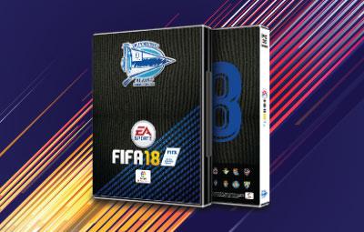 Caratula FIFA 18 Alavés