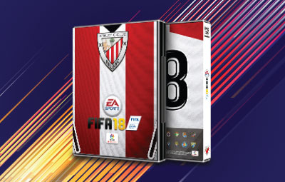 Caratula FIFA 18 Athletic de Bilbao