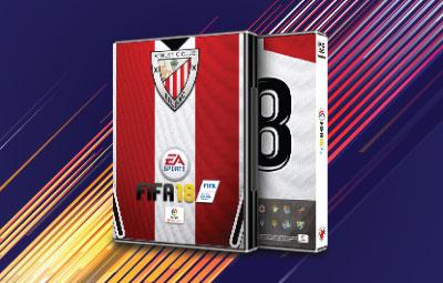Caratula FIFA 18 Athletic de Bilbao