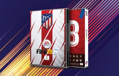 Caratula FIFA 18 Atlético de Madrid