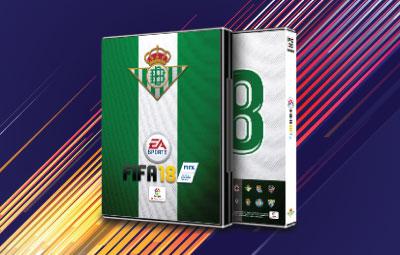 Caratula FIFA 18 Real Betis