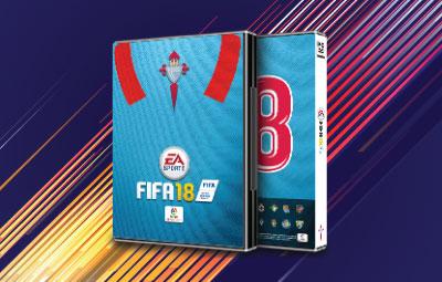 Caratula FIFA 18 Celta de Vigo