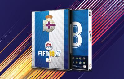 Caratula FIFA 18 Deportivo de la Coruña