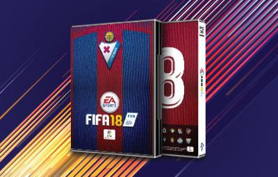 Caratula FIFA 18 Eibar