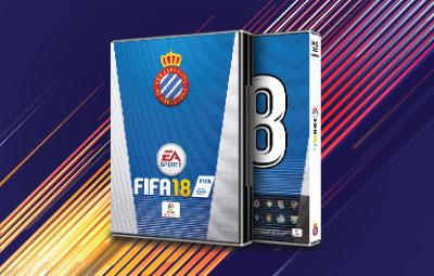 Caratula FIFA 18 Espanyol