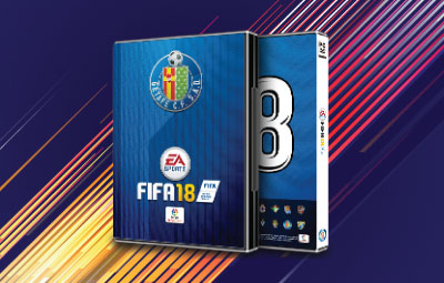 Caratula FIFA 18 Getafe