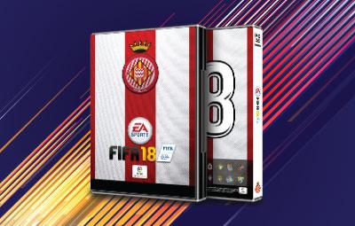 Caratula FIFA 18 Girona