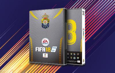 Caratula FIFA 18 UD Las Palmas