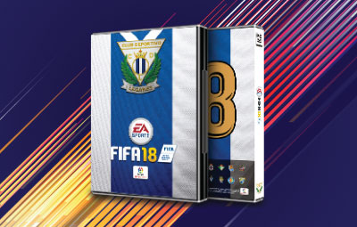 Caratula FIFA 18 Leganés