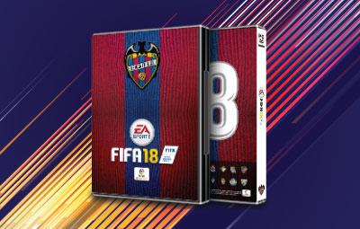 Caratula FIFA 18 Levante UD