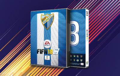 Caratula FIFA 18 Málaga CF