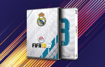 Caratula FIFA 18 Real Madrid
