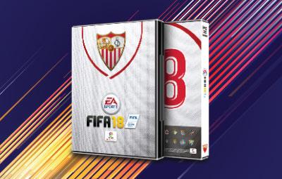 Caratula FIFA 18 Sevilla FC