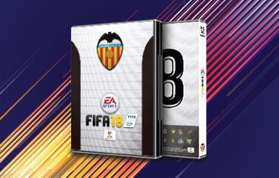 Caratula FIFA 18 Valencia CF